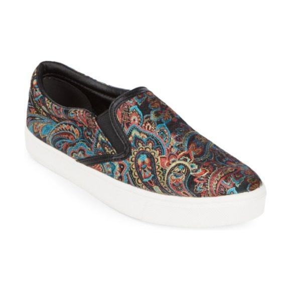 ee990b80a SAM EDELMAN Marvin Paisley Slip-On Sneakers. Sam Edelman.  M 5cc125f51528122eca6f1714. M 5cc12600969d1f557d050835.  M 5cc12608bbf076d2bba72adf